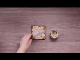 Как приготовить тост с сердечками из яйца?