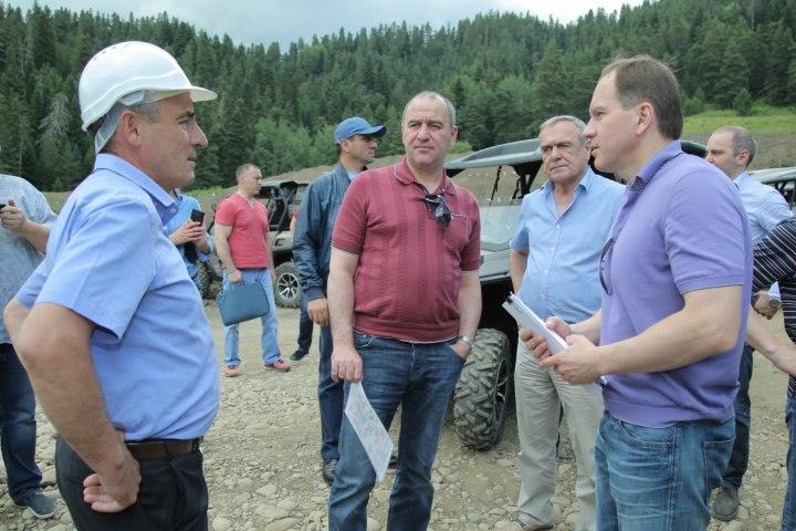 Зеленчукский район посетил Министр Российской Федерации по делам Северного Кавказа