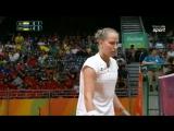 Maria Ulitina (UKR) vs Saina Nehwal (IND) - Rio 2016 - Group Play - Badminton