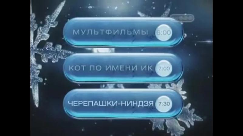 Рекламный блок (ТВ-3, 29.12.2008)