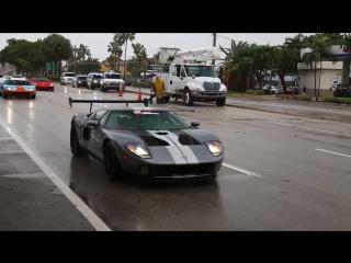 Парад экзотических автомобилей в Майами