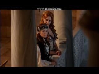 Бали-бей и Айбиге, взгляды на балконе,Хюррем все поняла))отрывок из сериала #балибейайбиге#obovsem#великолепныйвек#балибей#малко