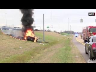 21_02_2016 - Водитель и Библия выжили после взрыва машины - Divine intervention