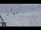 Горные лыжи. Школа Скифактор в Леви, Финляндия апрель 16г.