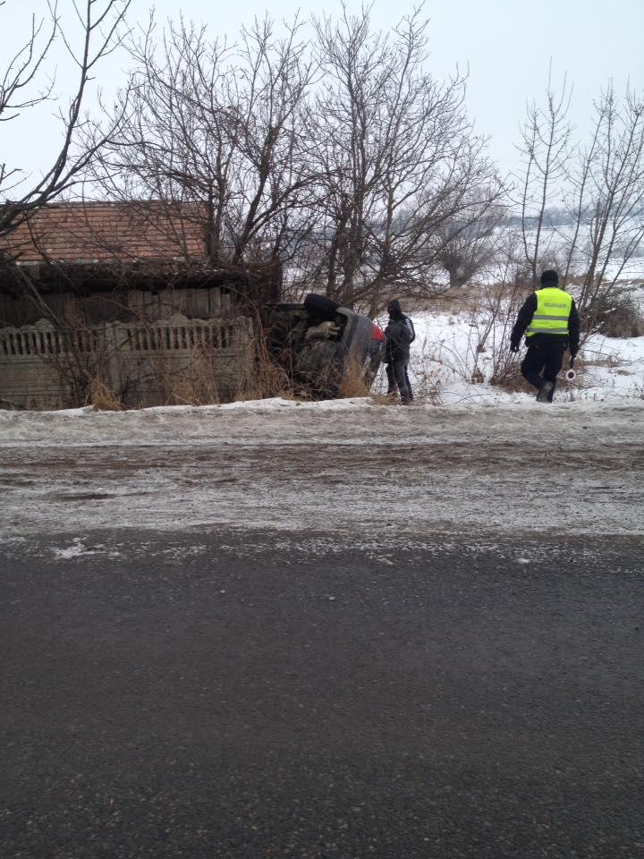ДТП у Тарашанах: легковик та мікроавтобус злетіли з дороги та перекинулися (ПОДРОБИЦІ)