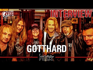 GOTTHARD - Leo Hena Silver interview @Linea Rock 2016 by Barbara Caserta