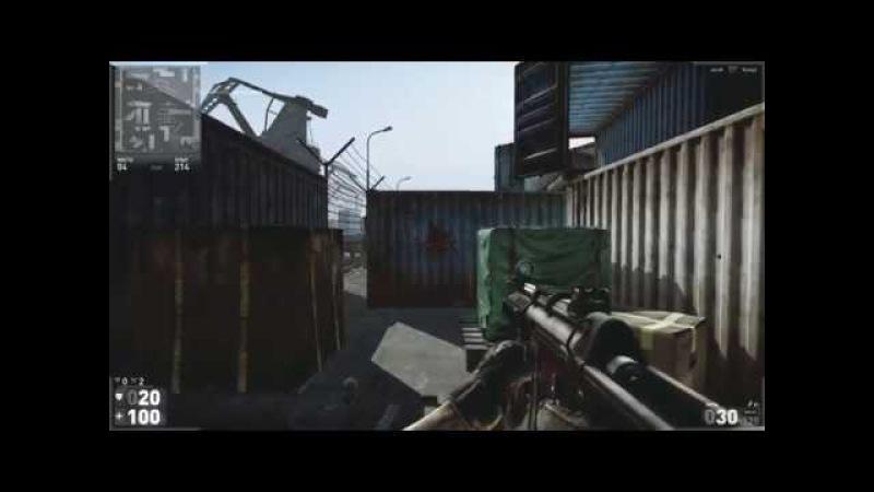 Hired Ops (отдача и разброс HK MP5K в стоке)