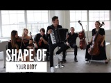Shape of your body - cover Пётр Дранга