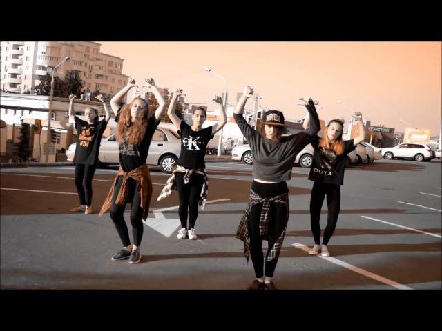 STANCIA dance studio Hip hop choreo ZH Blue Hannids