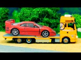 The Yellow Tow Truck and Car Friends + 1 Hour kids videos compilation Vehicles Cartoons for children