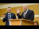 Еда и напитки на беседе о Библии Евгений Соболев