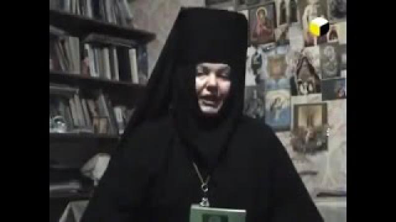 Прелесть! Схимонахиня Николая Сафронова 2016 (матушка Николая)