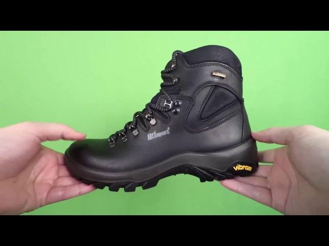 Видеообзор - Ботинки осенне-зимние водонепроницаемые кожаные мужские Grisport Red Rock (11405)
