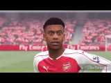 FIFA 17 Arsenal player faces