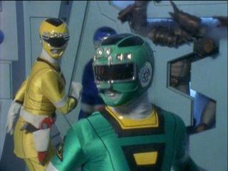 Power Rangers Turbo - Final Battle in Power Chamber (Chase into Space Episode).