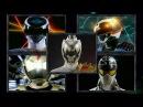 Power Rangers Forever Silver Gray Ranger Morphs Power Rangers in Space Dino Super Charge