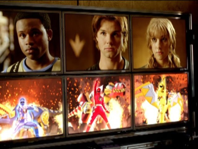 Power Rangers Dino Thunder - Power Rangers History (Legacy of Power Episode).