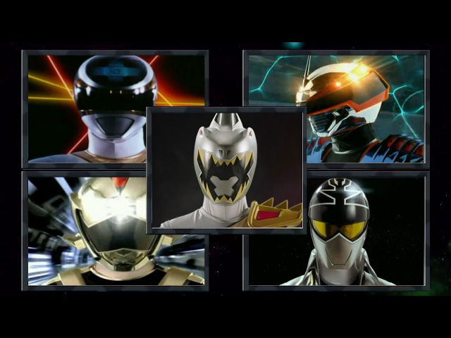 Power Rangers - Forever Silver / Gray Ranger Morphs (Power Rangers in Space - Dino Super Charge)