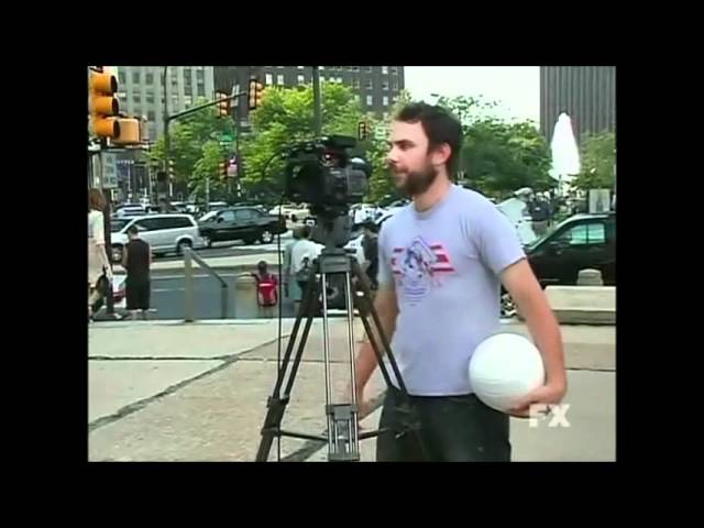 It's Always Sunny in Philadelphia - Charlie Day as Green Man.wmv