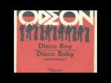 Odeon - Disco boy - Disco baby - italian funk 70s
