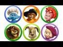 Киндер Сюрприз. Барбоскины. Маша и Медведь. Фиксики. Видео для детей. Surprise Eggs for Kids. мультики киндерсюрприз барбоскины машаимедведь фиксики лунтик игрушки дети юмор