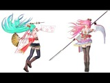【MMD】 ビバハピ/Viva Happy 【Models DL】【TDA Blooming Flower】 HD 720p