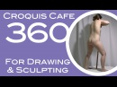 Croquis Cafe 360: Drawing & Sculpture Resource, Grace #6