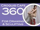 Croquis Cafe 360: Drawing & Sculpture Resource, Grace #9