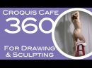 Croquis Cafe 360: Drawing & Sculpture Resource, Grace #8