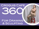 Croquis Cafe 360: Drawing & Sculpture Resource, Grace #7