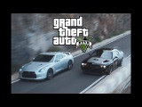 Dominic vs. Brian | Fast and Furious 6 in GTA 5