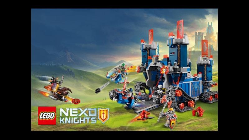 Обзор Lego 70317 Nexo Knights The Fortrex (Лего 70317 Мобильная крепость Фортрекс)