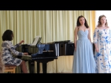 Анна Касаткина, Мария Денисова. Гурилёв