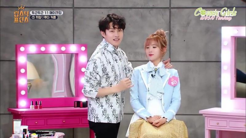 [16.02.2017] SJ Heechul, Luda'ya makyaj yapıyor @ Lipstick Prince 12. Bölüm [Türkçe Altyazılı]