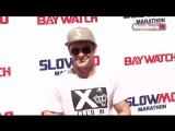 Zac Efron at Baywatch SlowMo Marathon event in Los Angeles - YouTube