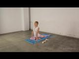 Йога для начинающих. Эка Пада Раджакапотасана