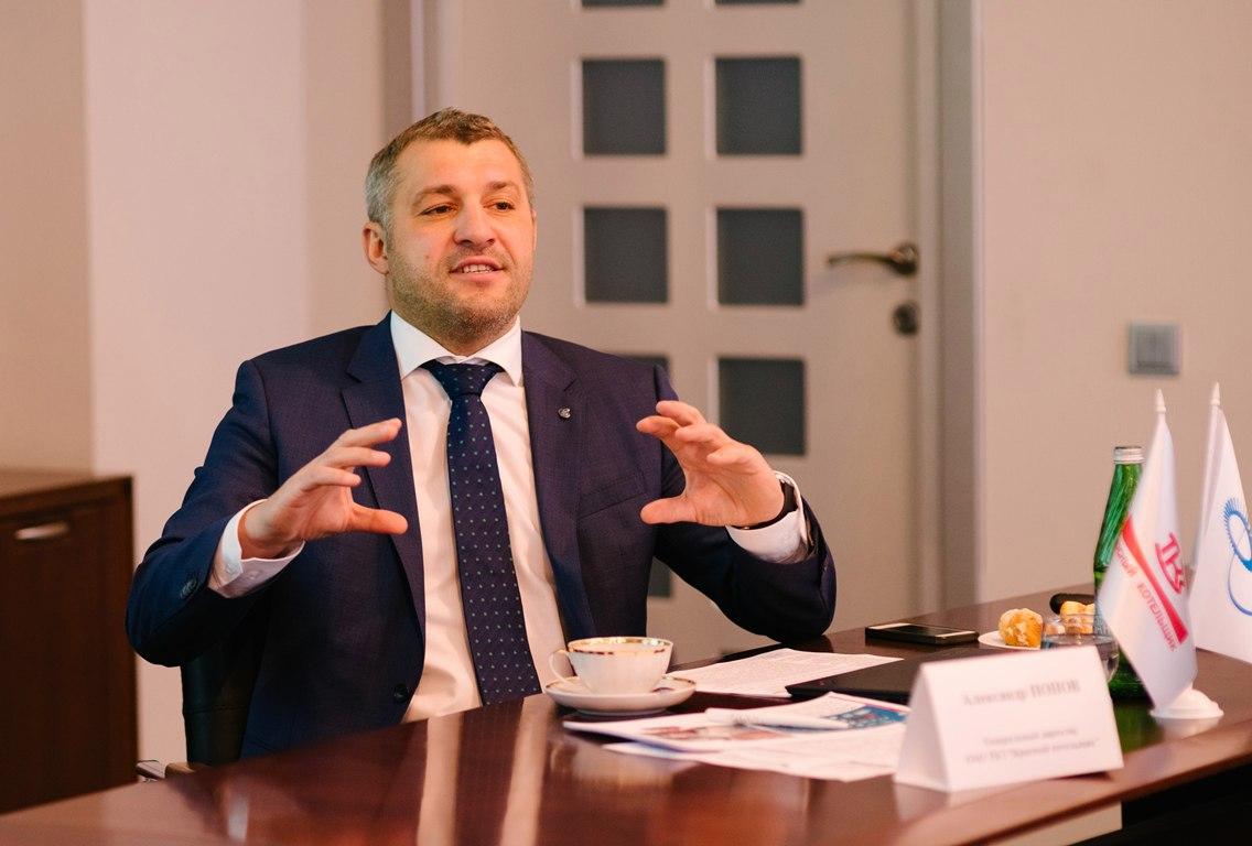 Генеральный директор «Красного котельщика» Александр Попов встретился с журналистами