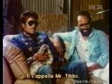 Майкл Джексон и Куинси Джонс на съемках Thriller 1983