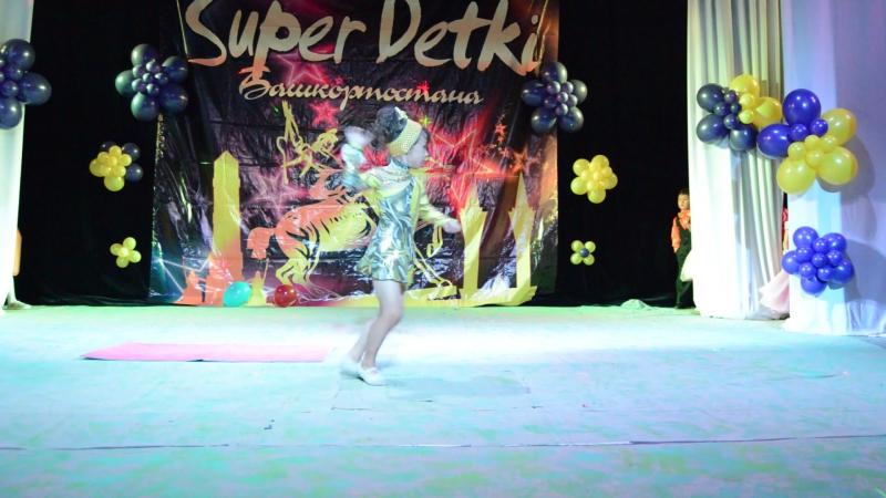 Ахметьянова Амалия на финале Super Detki Сибая 2016. 10 09 2016
