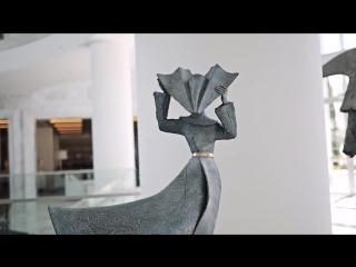 Philip Jackson Sculptures at the Conrad Algarve [HD, 720p]