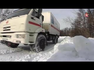 КАМАЗ изготовил «скорую помощь» для Крайнего Севера.