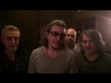 Сергей Галанин и группа СерьГа поздравляет Алексея Яшина и группу Casual с Днем Рождения