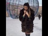 Алиана Устиненко хвастается новой шубой - подарком мужа на День рождения