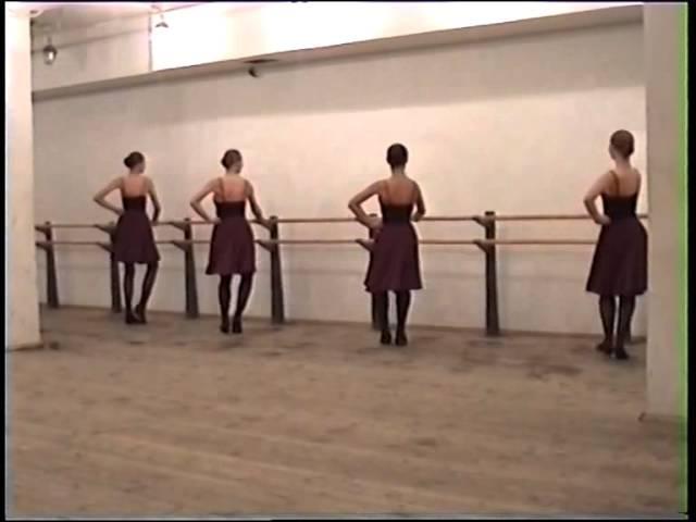 Народно-сценический танец(Каблучное упражнение)