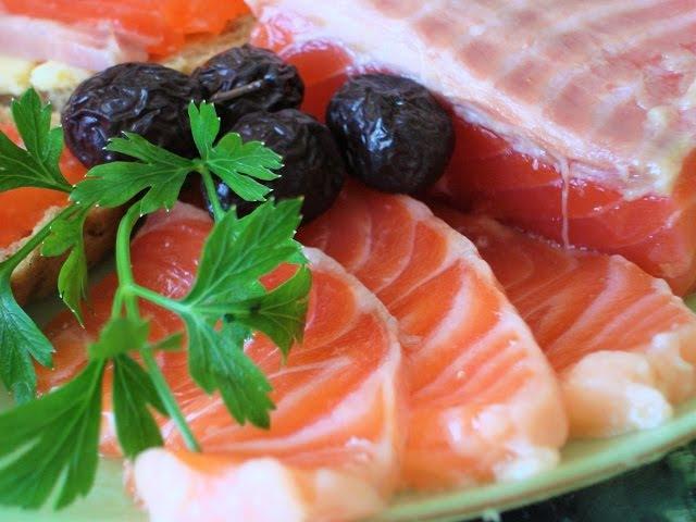 Как засолить красную рыбу Очень быстро и просто Малосольная сёмга форель горбуша лосось кета