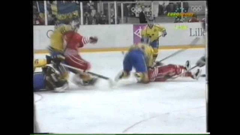 27.02.1994 г., ОИ в Лиллехаммере, финал Швеция - Канада (3:2 булл.)