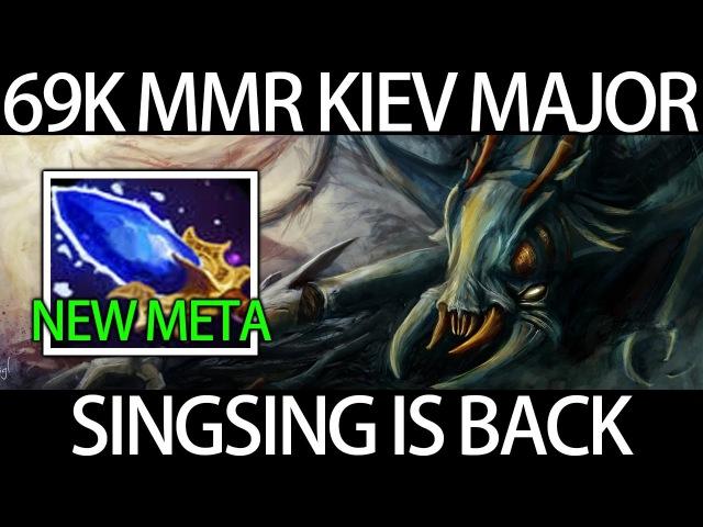 Singsing IS BACK Kiev Major Qualifier First Win Weaver Aghanim's Scepter