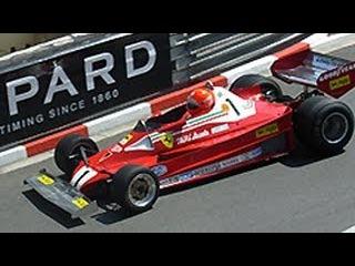 Rush at Monaco - Niki Lauda James Hunt Race Cars at Monaco Historic GP