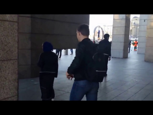 NSWP брызнул перцовым балоном шлюхе в хиджабе