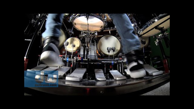 Marco Iannetta plays PDP Concept Series Drums Pedals by DW (100 GoPro)
